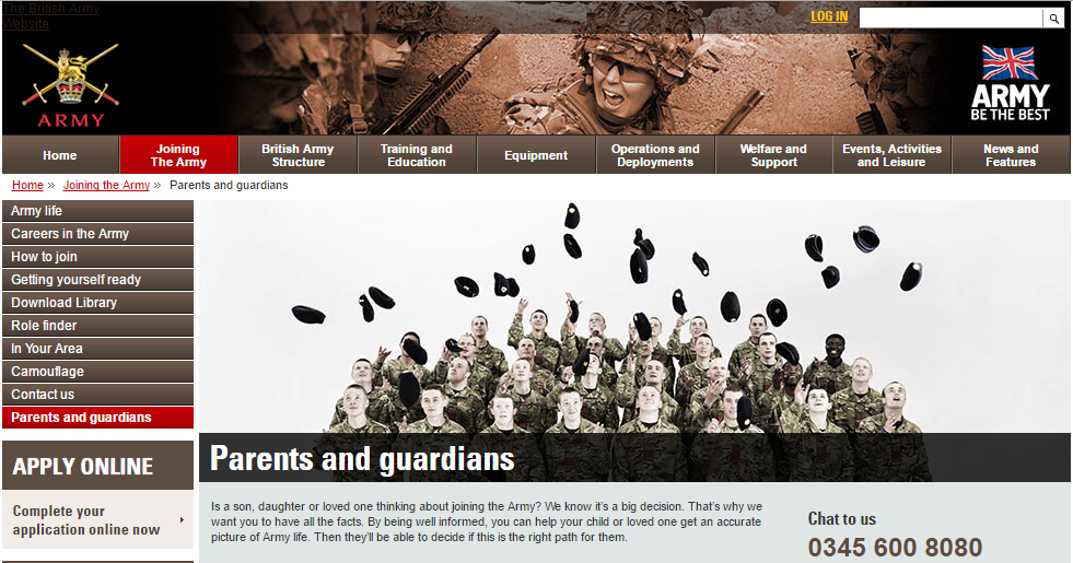 Army Website