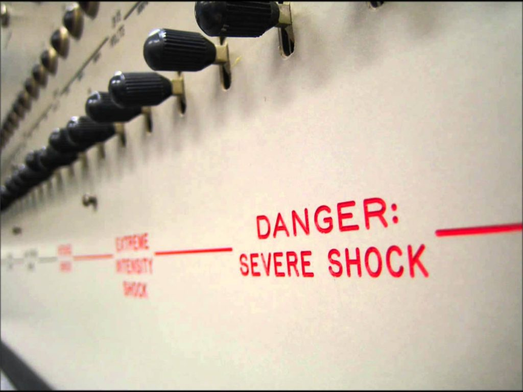stanley milgram experiment Experimenter is based on the true story of famed social psychologist stanley milgram, who in 1961 conducted a series of radical behavior experiments that tested ordinary humans' willingness to obey by using electric shock.