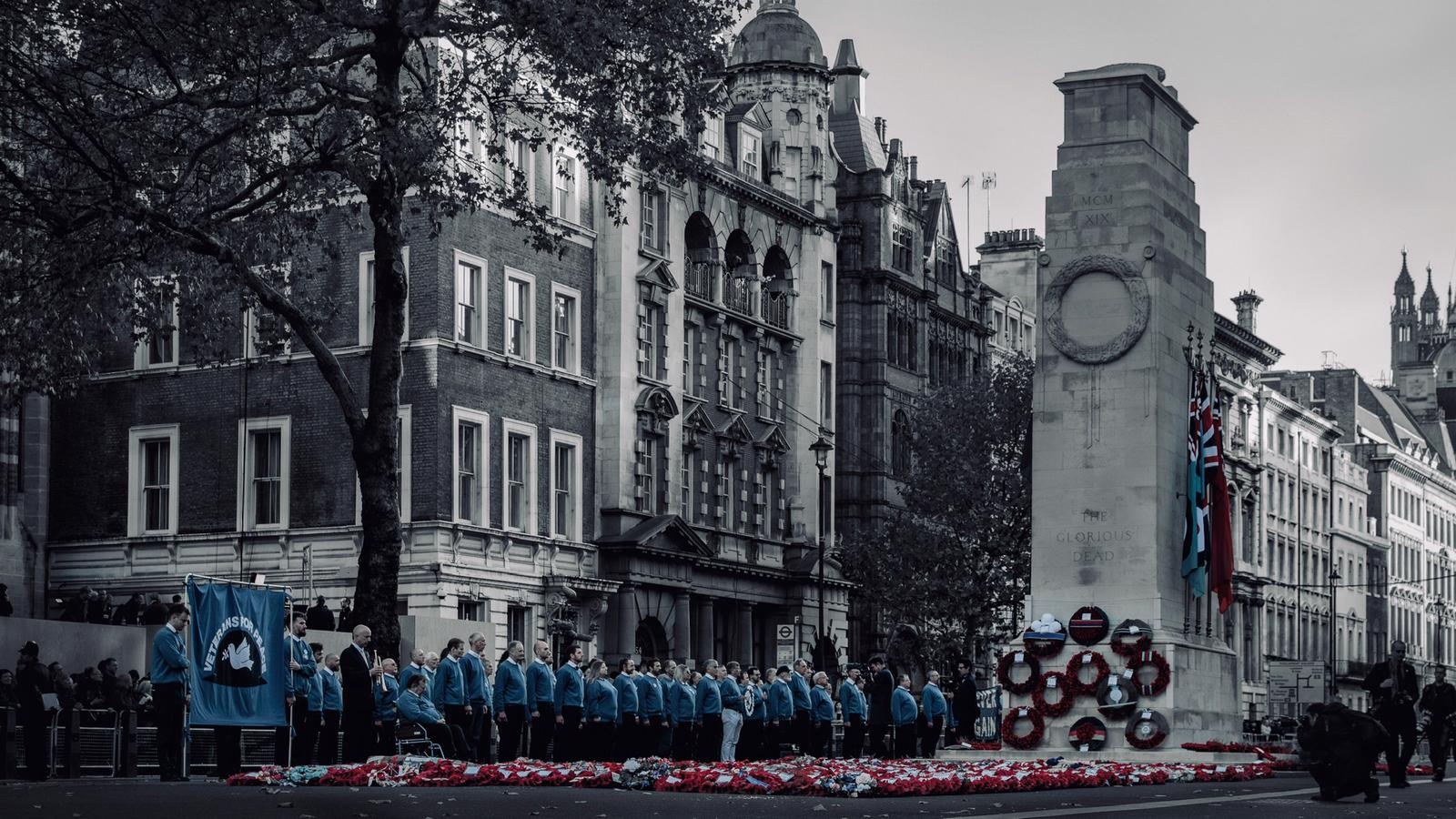 VIDEO: VETERANS FOR PEACE AT THE CENOTAPH post image